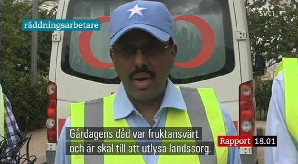 Persson utlyser landssorg