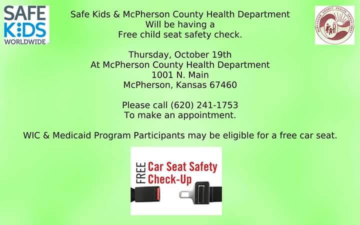 McPhersonPD On Twitter Thursday October 19 Safe Kids And The
