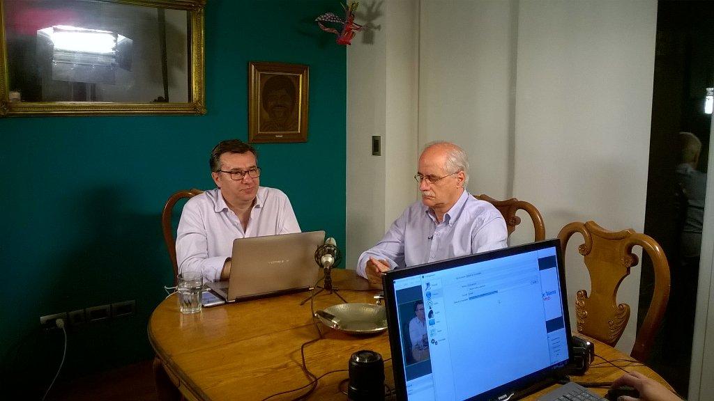 En minutos @JorgeTaiana en vivo con #Res...