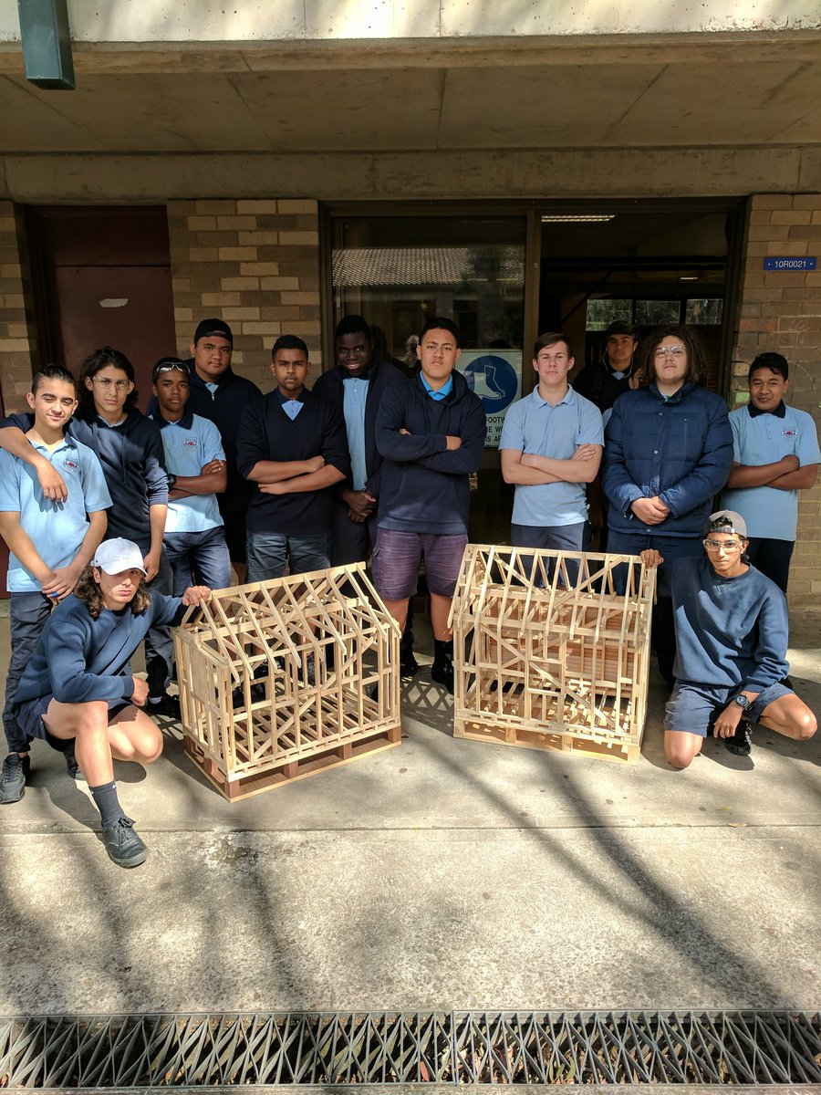 Stage 5 #Building &amp; #Construction scale model timber framing project #awesome #edchat  @SarahRedfernHS @HIA_au @iiateTECH @learnPSNSW<br>http://pic.twitter.com/PqBjcoc49u