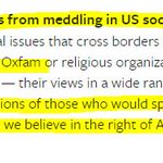 Is @facebook comparing Russian info ops in US to @UNICEF and @Oxfam advocacy abroad? Certainly seems so. https://t.co/eOyo1HxLnM cc