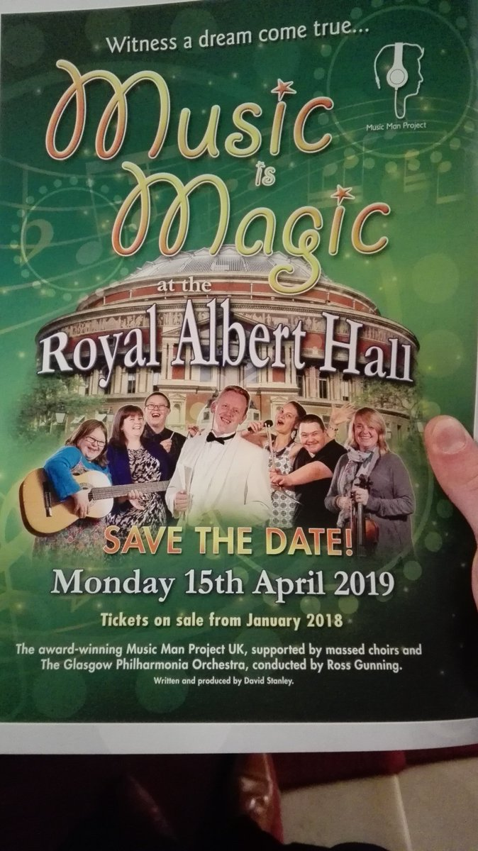 Finally announced that we are playing at @RoyalAlbertHall in 2019!! @MusicManProject @RossGunning1 #orchestra #royalalberthall #london RT<br>http://pic.twitter.com/XuVeEyNb5w
