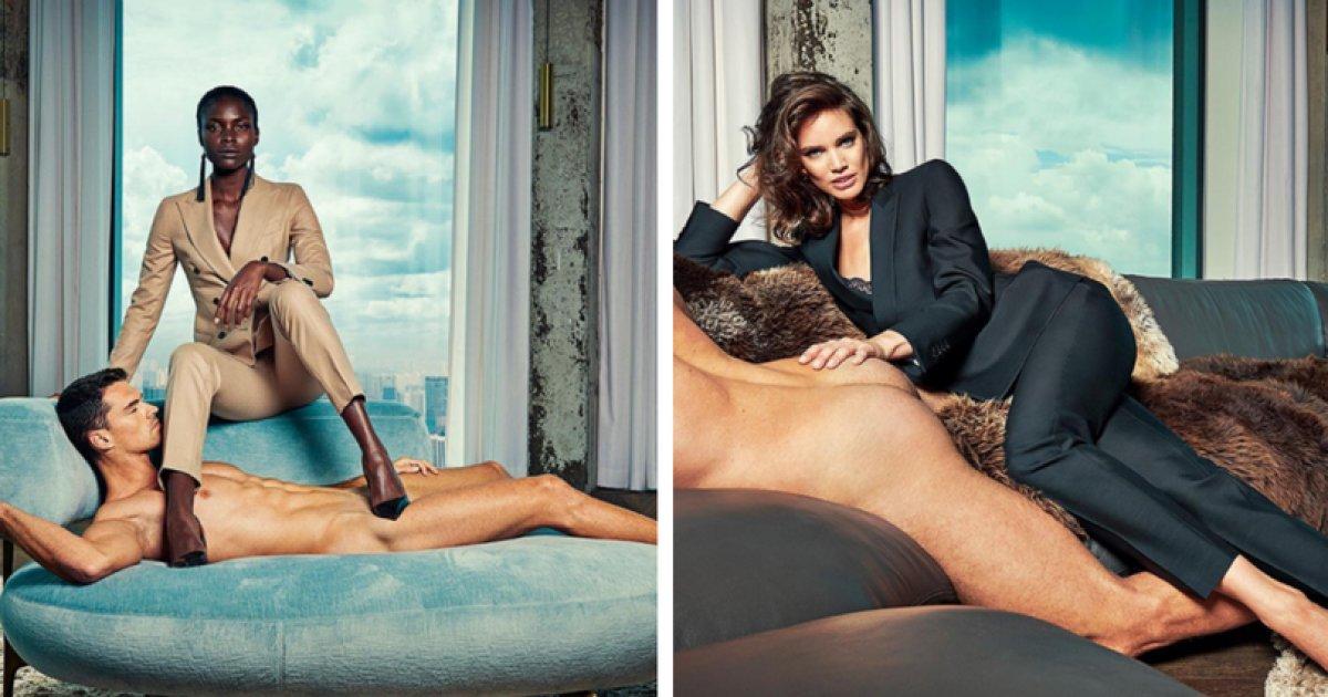 Por que esta campanha publicitária com homens nus está sendo considerada sexista https://t.co/vxzneMsIO6
