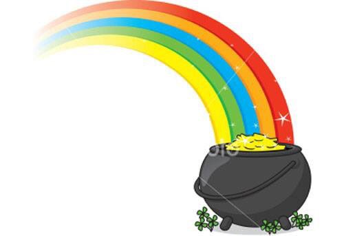 For the pot of gold