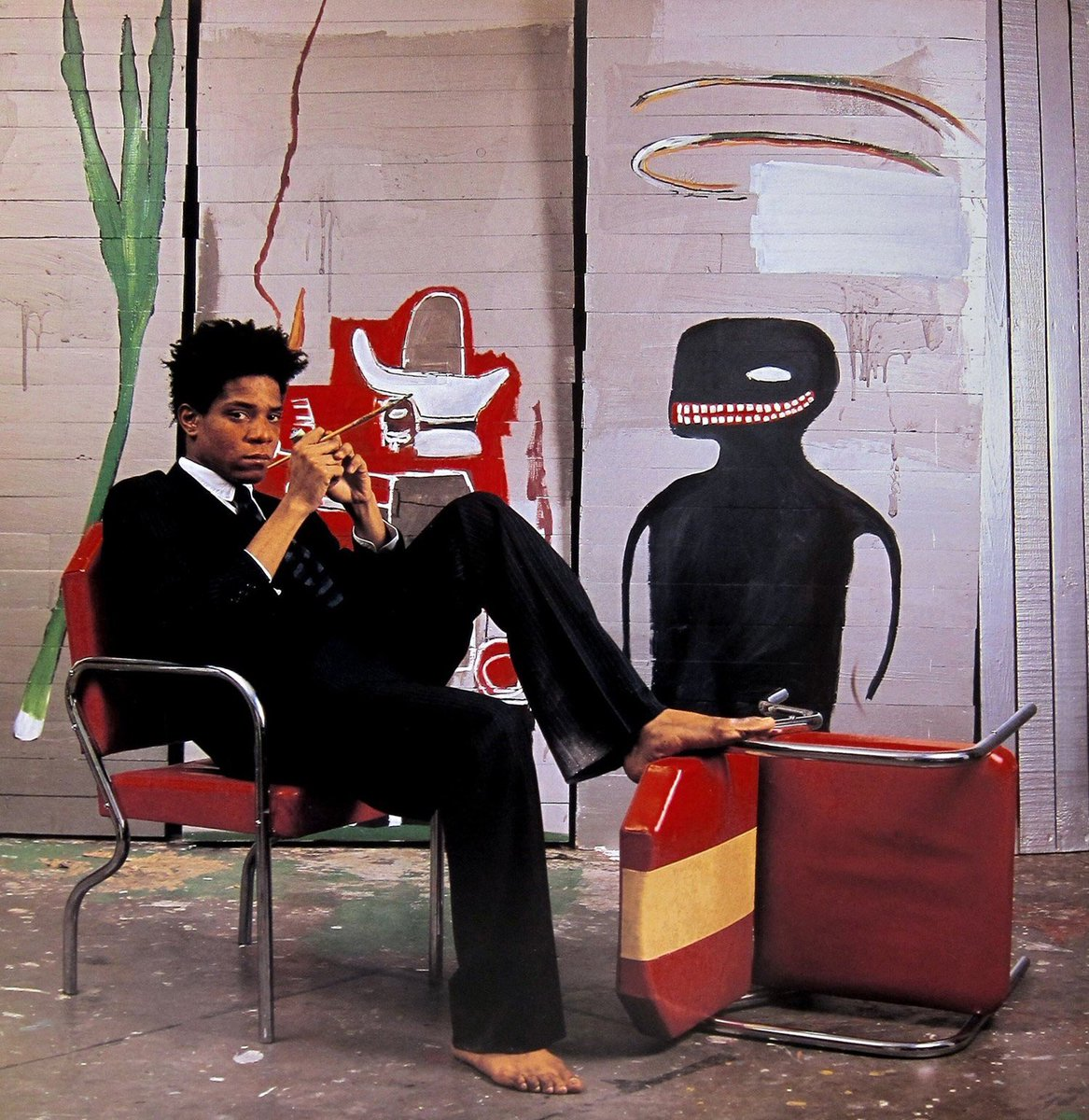 Excellent @BBCTwo documentary on #Basquiat makes me want to do Museum Wednesdays with @FABNEWYORK and talk chiaroscuro <br>http://pic.twitter.com/J1C8NfqGMn