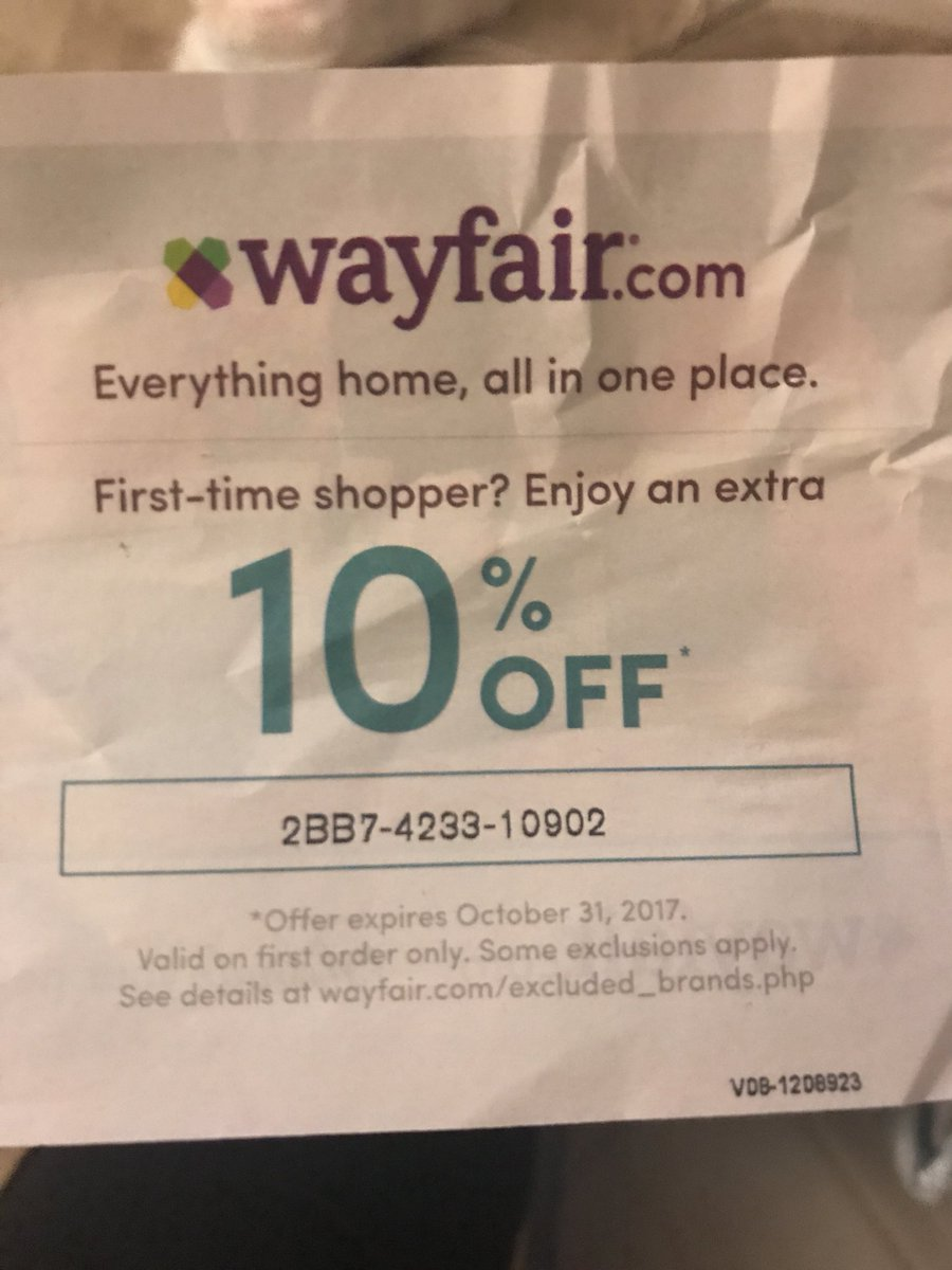 Wayfaircoupon Hashtag On Twitter