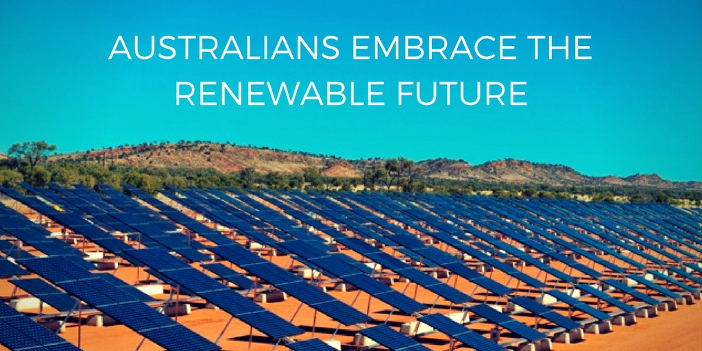 Australia is leading the way with it&#39;s incredible commitment to #renewable energy!  http:// ow.ly/LhnO30fTbL9  &nbsp;   #solar #sustainability <br>http://pic.twitter.com/io64EnFbzc