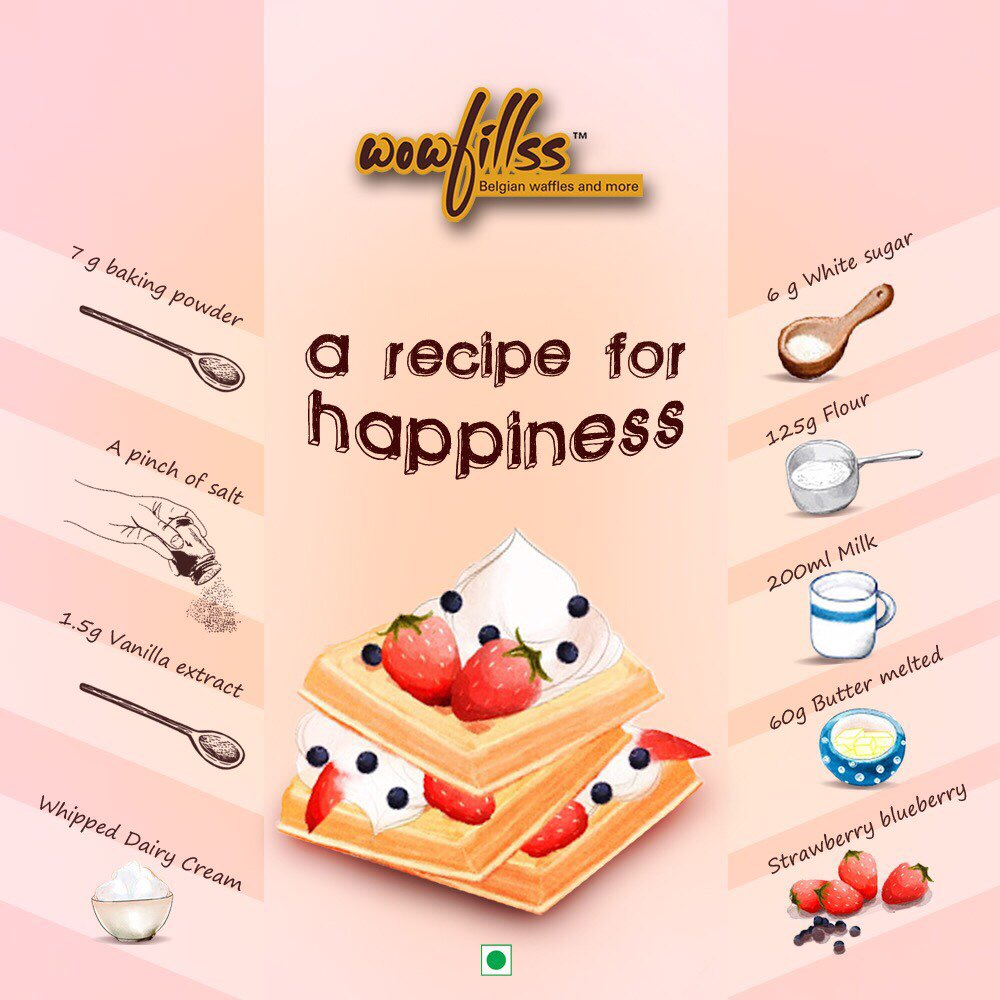 #MondayMotivation - Kickstart the week with our waffles, cooked up with love to spread some smiles!  #WowfillssWaffles #WaffleLover #WaffleMania #BubblingWithHappiness #LowerParel #Mumbai #Waffles #Yummy #Dessert #SweetTooth #Recipe #Happiness #Ingredient <br>http://pic.twitter.com/iaq5OYZ9Rj