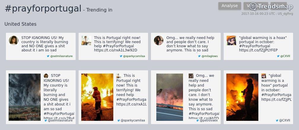 #prayforportugal is now trending in United States  https://t.co/IgPcDQstLR https://t.co/7HzhIiMw9I