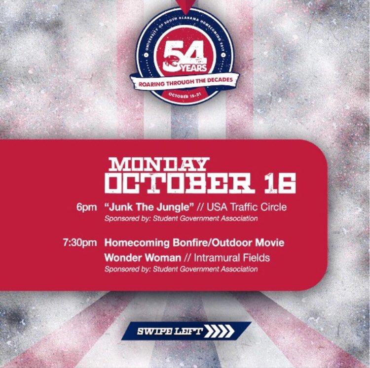 Al the fun starts tomorrow! #HOCO17 #USA18 #USA19 #USA20 #USA21 #GoJags #WeAreSouth<br>http://pic.twitter.com/uUnmNtnFbx