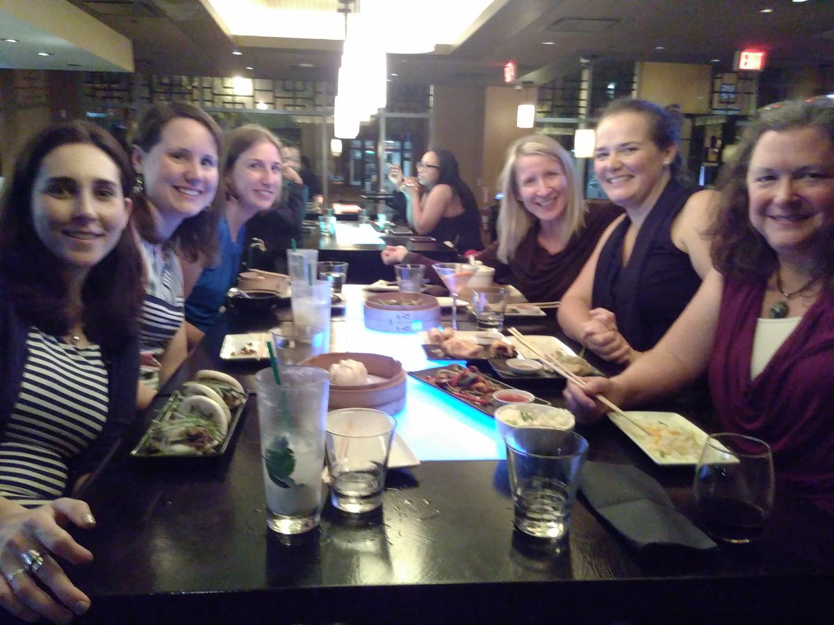 DIM SUM DIMs and SIMs to celebrate clinician/research collaborations + #WCAPP17 @SarahHaagPT @SandyHiltonPT @WTezakPT @proskoyoga<br>http://pic.twitter.com/75bPu9NVDm