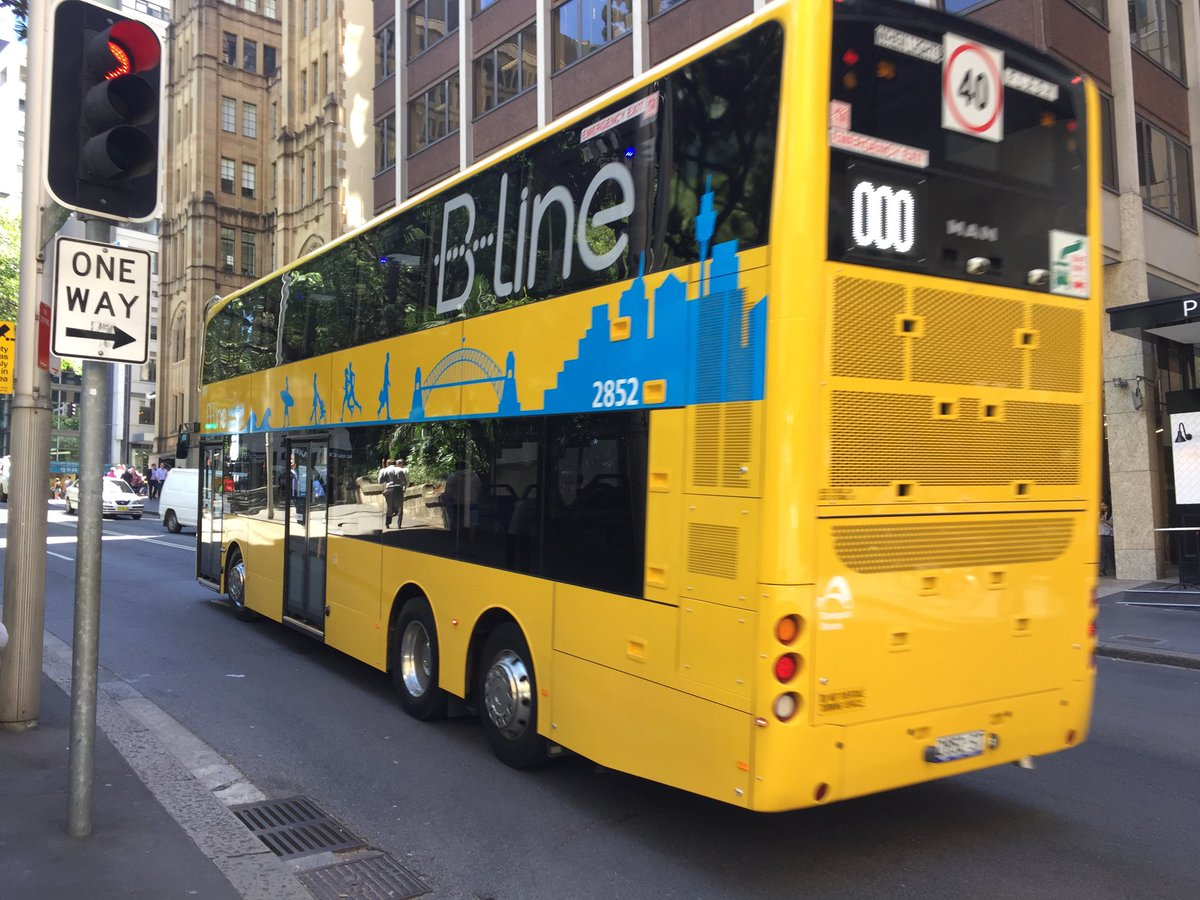 "matt o'sullivan on twitter: ""sydney's new b-line double decker buses"