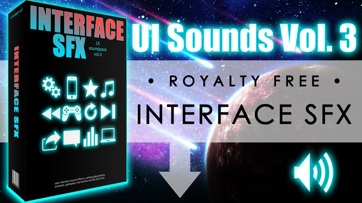 DOWNLOAD LINK:  http:// bit.ly/2yqzxUV  &nbsp;    #gamedev #indiedev #indiegamedev #AndroidDev #interface #soundeffects #sfx #ui #gui #click #menu<br>http://pic.twitter.com/N7ht7Nypyy