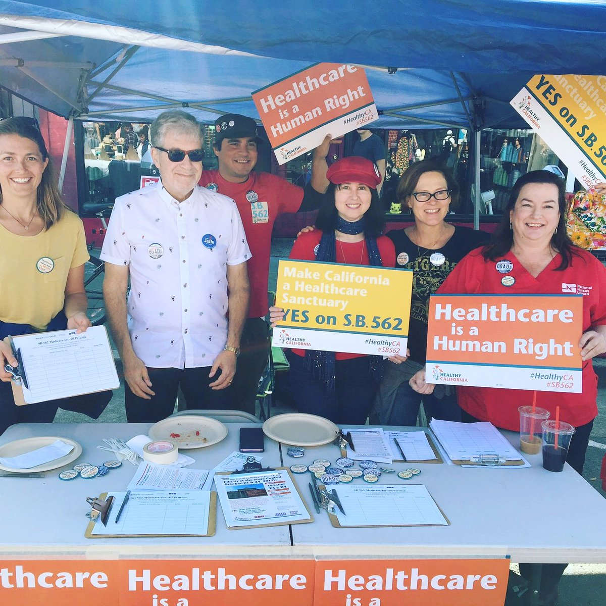 Day of action for SB562 single payer. #medicareforall https://t.co/lKh...