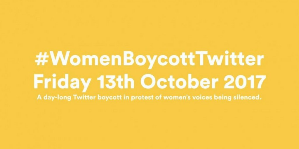 ICYMI: #WomenBoycottTwitter movement still garners 170,000+ https://t.co/ArPafctkng