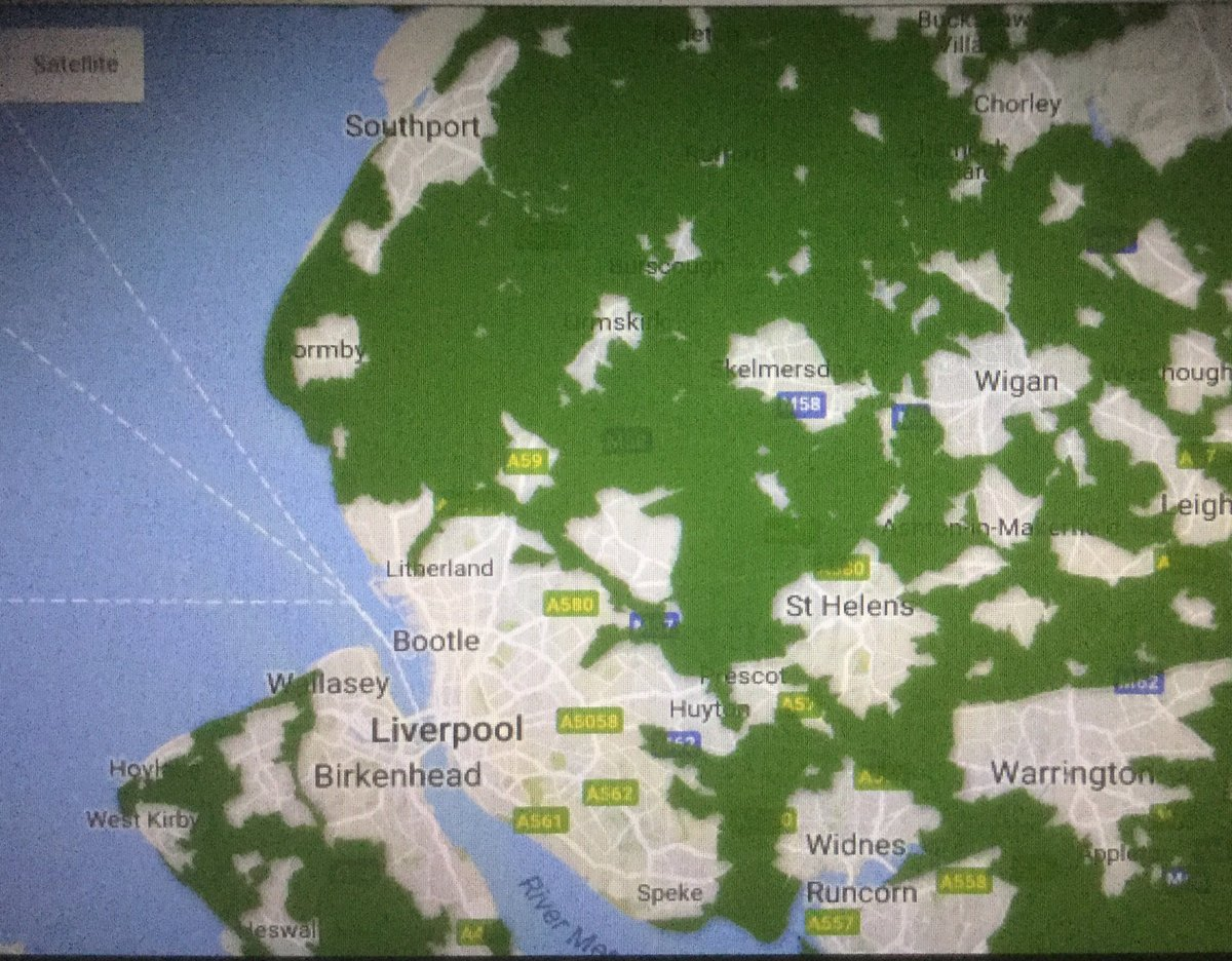 Map of Green Belt Land  #Southport #LibDems find it difficult to understand why there are no homes in Bootle built on Green Belt Land<br>http://pic.twitter.com/HICEuC1Jbk