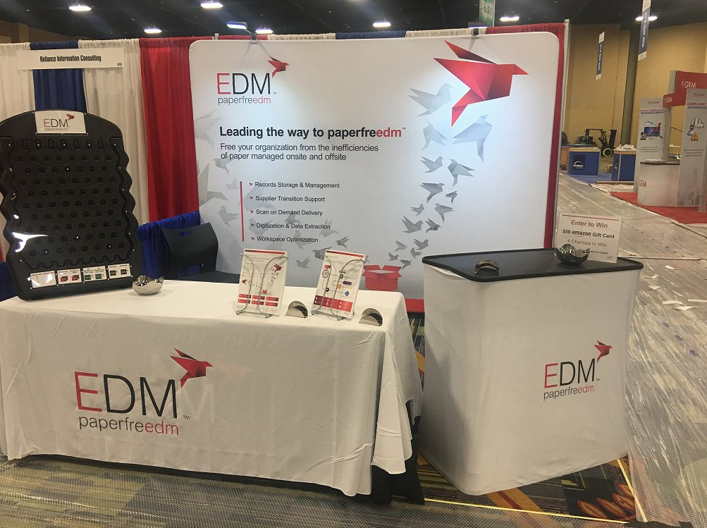 We're at @ARMA_INT again today to help with any questions you may have around #InformationManagement. Drop by booth 618! #ARMALive2017<br>http://pic.twitter.com/8dOUe2RnxB