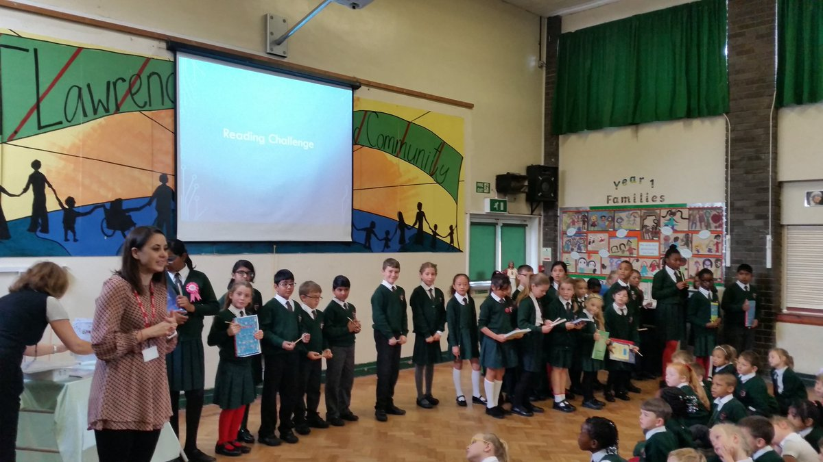 Our Monday morning Gospel Assembly. Matthew 22: 1-14 &#39;The Parable of the Royal Wedding.&#39; &amp; Reading Challenge awards. #greatstarttotheweek <br>http://pic.twitter.com/pqLPu1N1V2