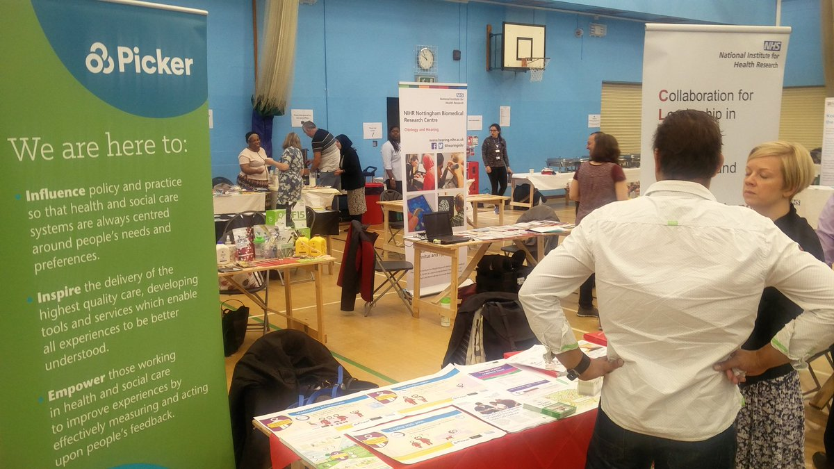 At the #BigHealthConnectEvent with @CLAHRC_NWL. Our stand is set up and I went around networking and visiting other stands. #TurningPoint <br>http://pic.twitter.com/nfxWooQGrN