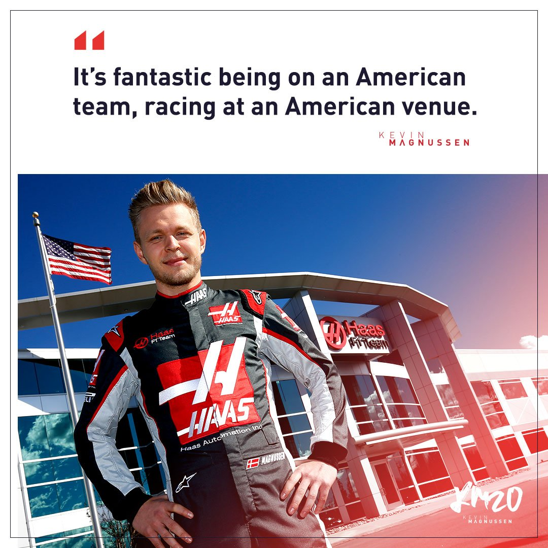 Kev on the all-American weekend coming up at @COTA    #Haastin #USGP #KM20 <br>http://pic.twitter.com/dMnr59oXG4