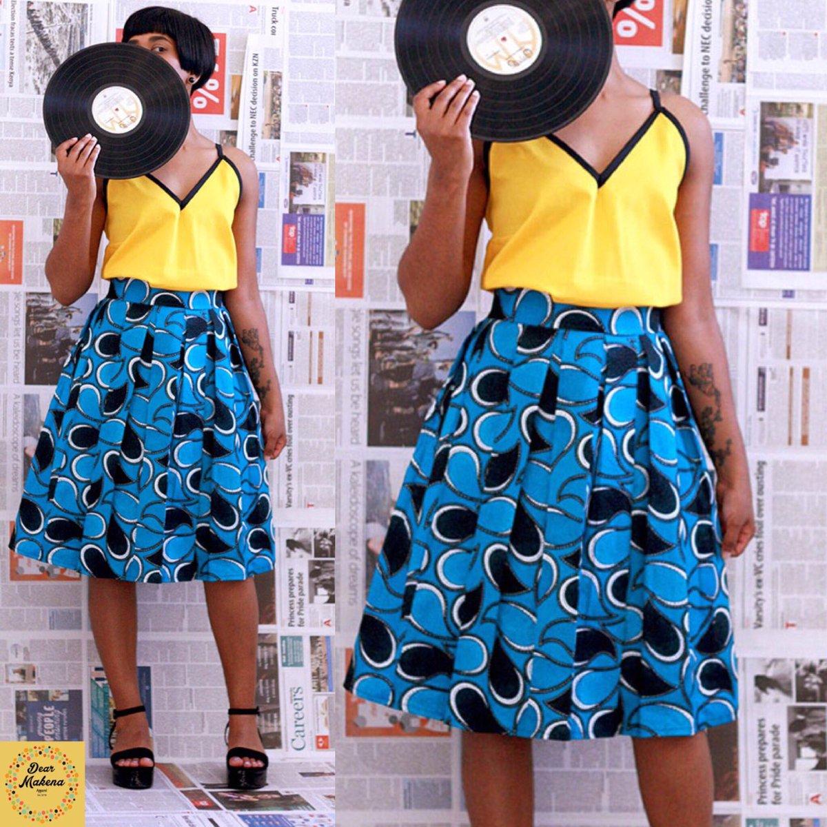 Meet our new SADIE box pleat skirt and TARI strap top! #africanfashion #womenswear #safashion<br>http://pic.twitter.com/B5liia7k7l
