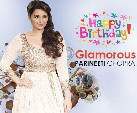 #HappyBirthday to the Glamorous @ParineetiChopra ! - @Radio_Chai<br>http://pic.twitter.com/ifHNxSEFb7