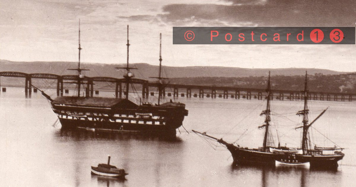 The Mars Training Ship and brig Francis Mollison on the #RiverTay #TayBridge #Dundee #NewportOnTay #Woodhaven #Wormit<br>http://pic.twitter.com/shCFMIlzm2