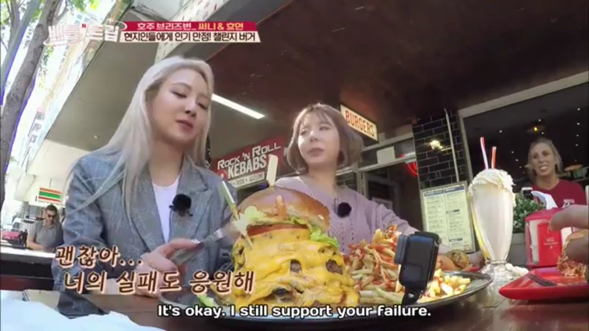 She said she&#39;ll even support her failure....  my newly hyosun ass is crying. Give hyosun more love this ship deserve it #hyoyeon #sunny <br>http://pic.twitter.com/sA3NkB3rvh