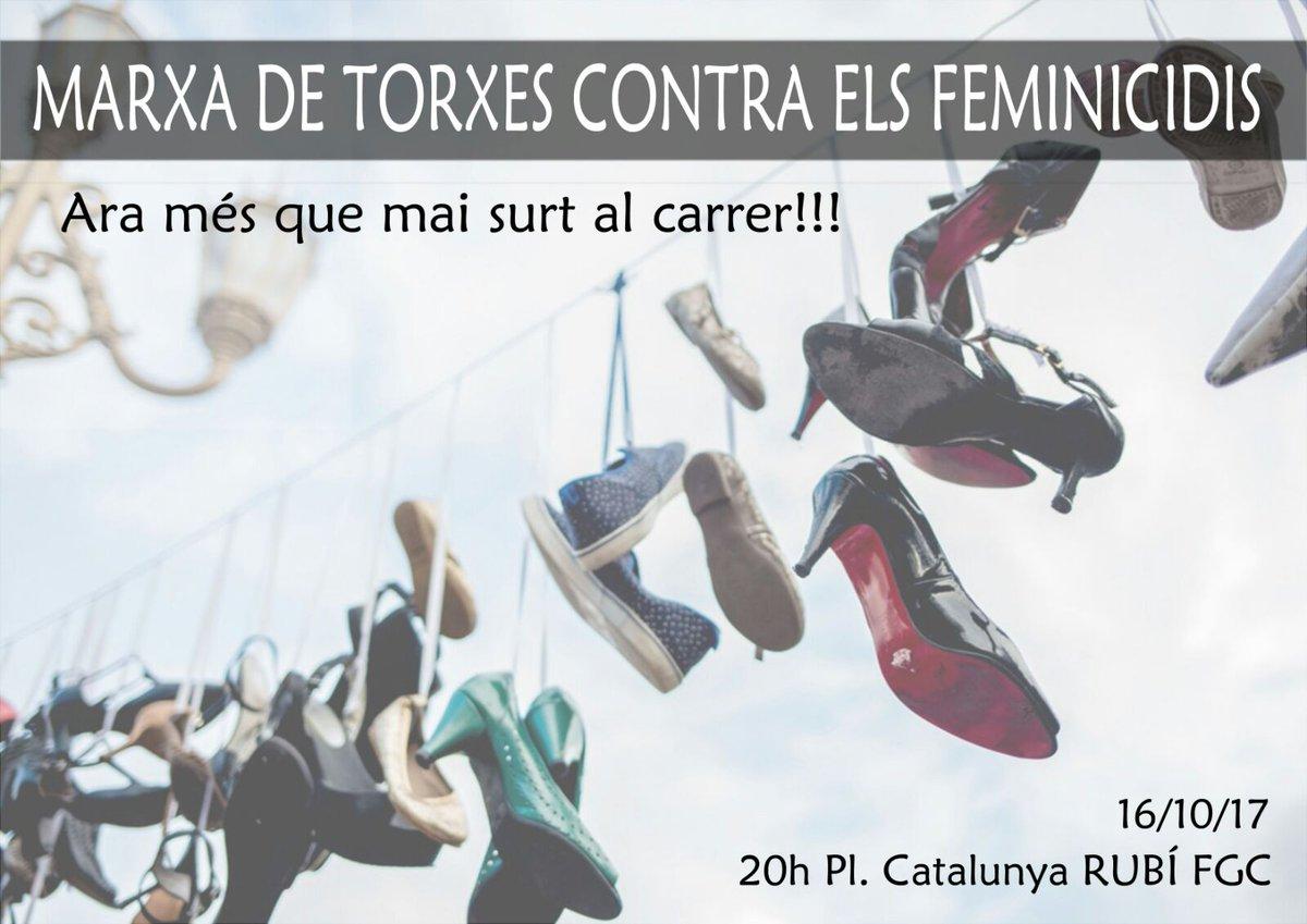 Convocatòria AVUI contra els feminicidis...