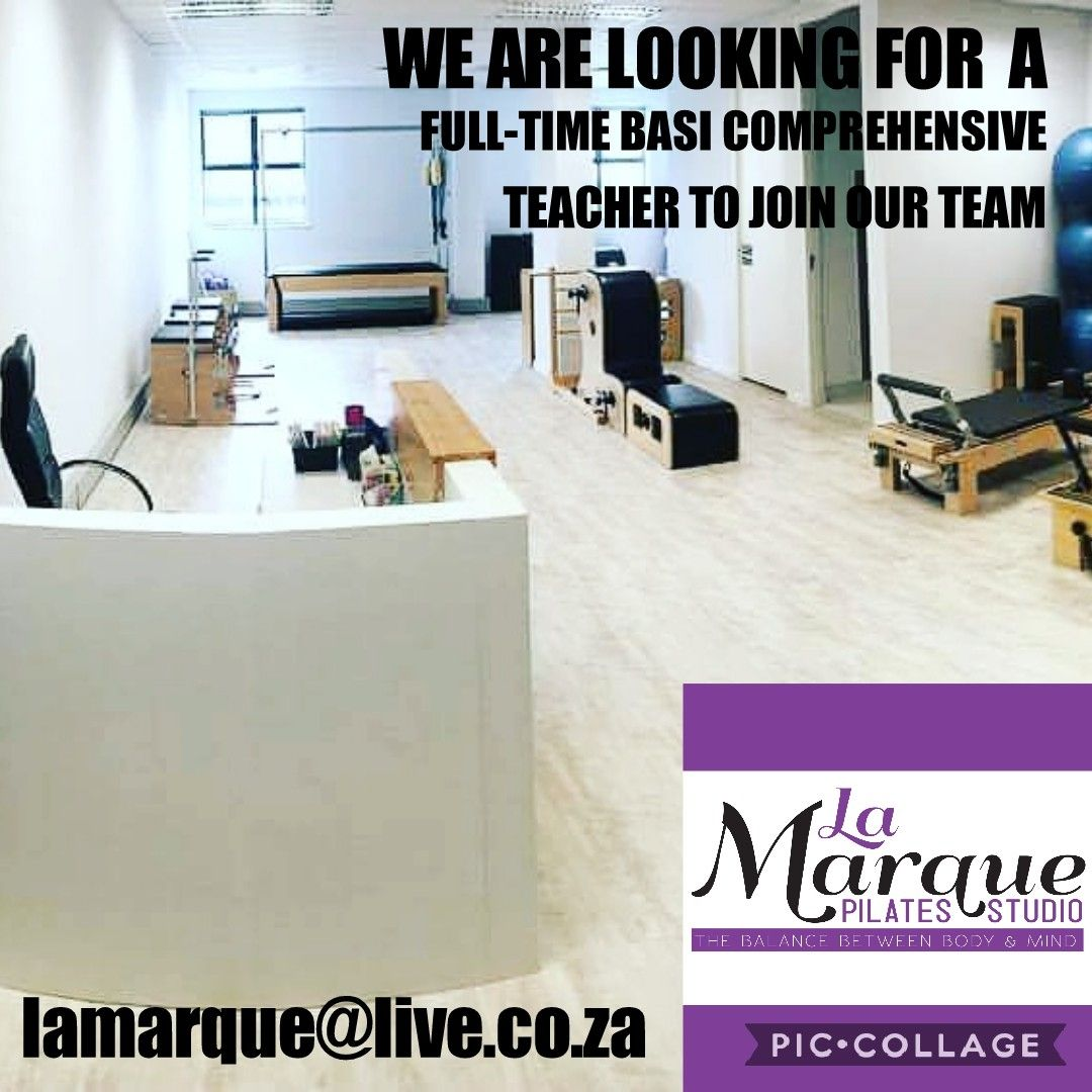 #lamarquepilatesstudio #basipartnerstudio #umhlanga #basiteacher If you would like to join our amazing team. Feel free to contact me.<br>http://pic.twitter.com/bu3WSxMETc