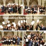 Yay! Und nochmals wurden 133 Bachelor-Diplome übergeben! ❤️-lichen Glückwunsch! https://t.co/SHAFjJX0Iz