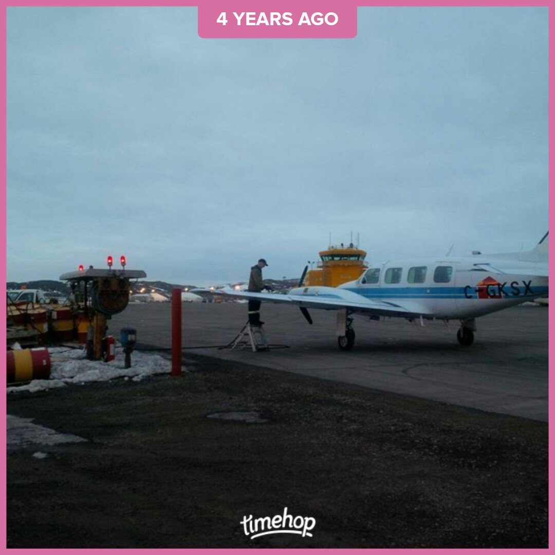 Fuel stop in Iqaluit, Canada enroute from Denmark to Montreal. #FerryPilot #AircraftFerrying<br>http://pic.twitter.com/psCMcIIVmz