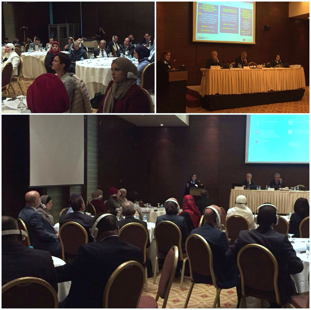 Happening now in #Amman: #EUTaiex workshop on &quot;Good #governance: Promoting #integrity&quot;. More on #EUTaiex http:// europa.eu/!mr43MR  &nbsp;  <br>http://pic.twitter.com/Uwp18HV1Ce
