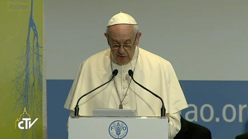 #Papa Francesco alla Fao: occorre volontà e dialogo per bloccare i conflitti e giungere al disarmo #WFD2017