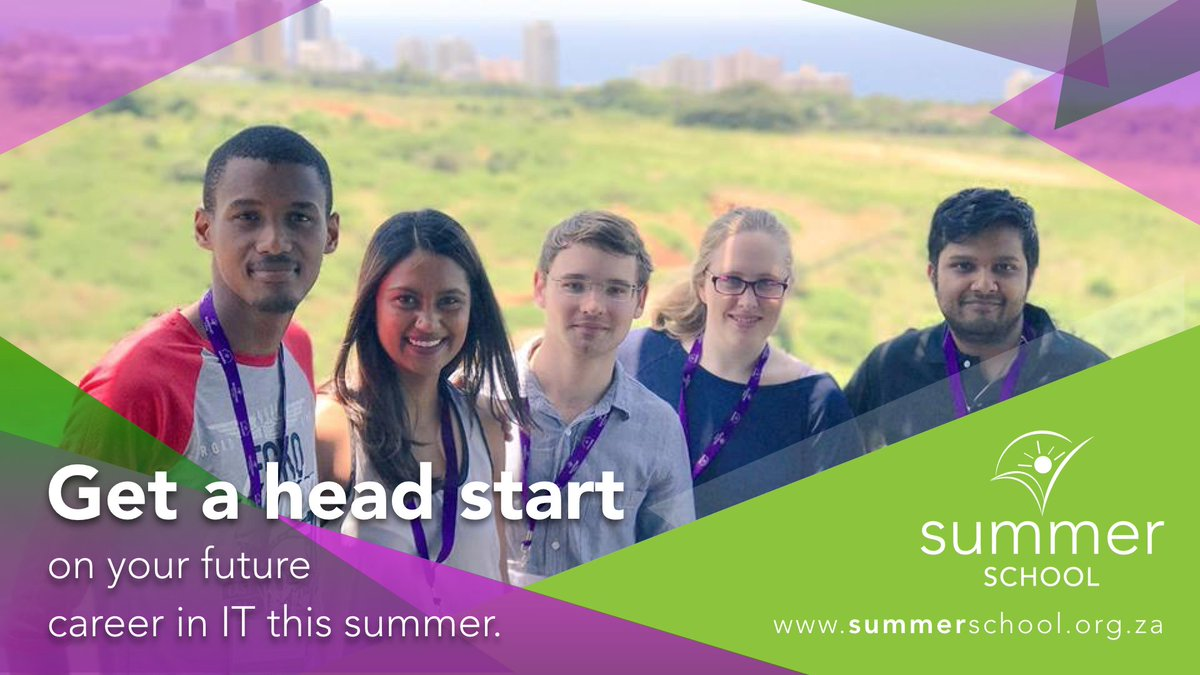 #SummerSchool is open for 2017/2018! Register today to book your week with the team:  http:// summerschool.org.za  &nbsp;    #VacWork #WorkExposure #Durban<br>http://pic.twitter.com/9O3dvepYkX
