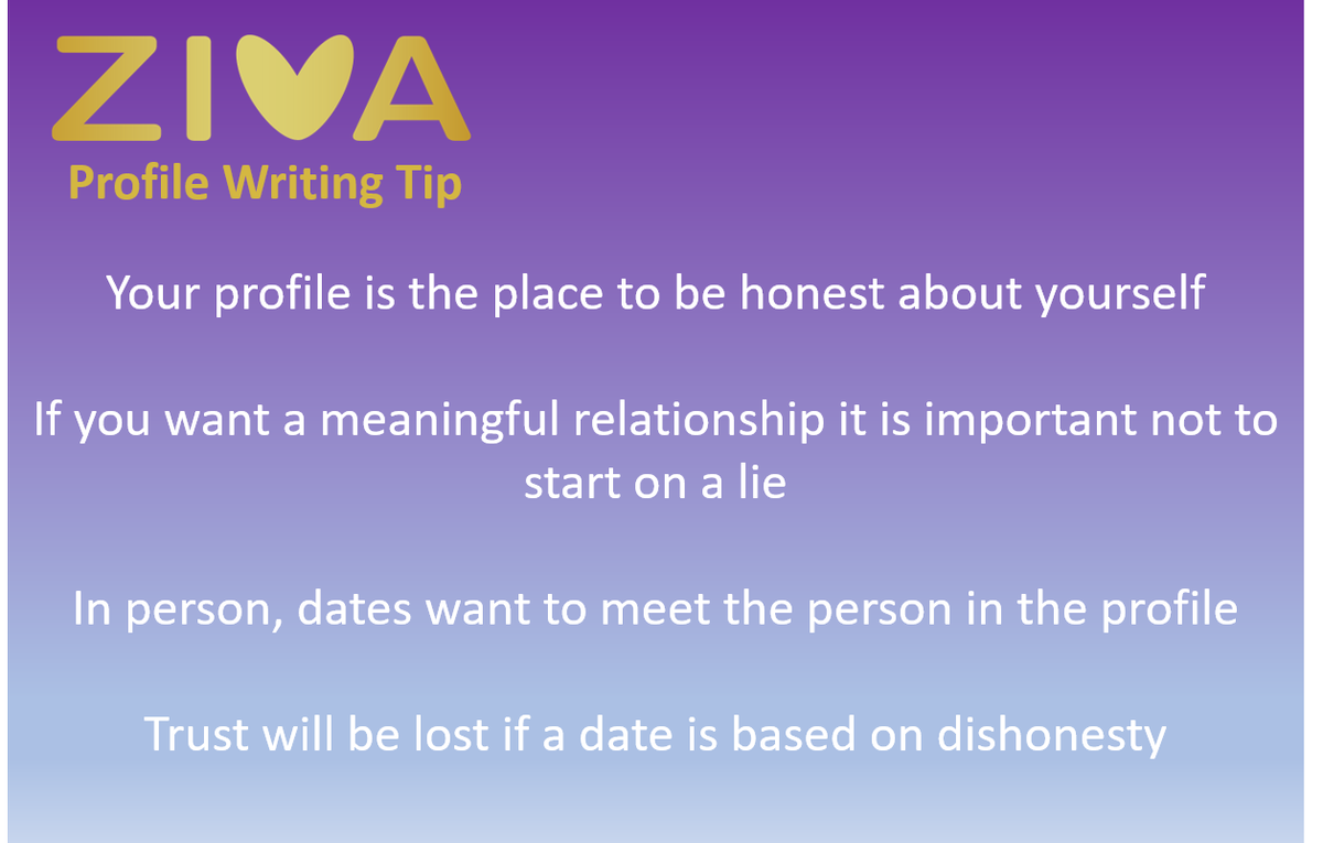 Dating writing tips