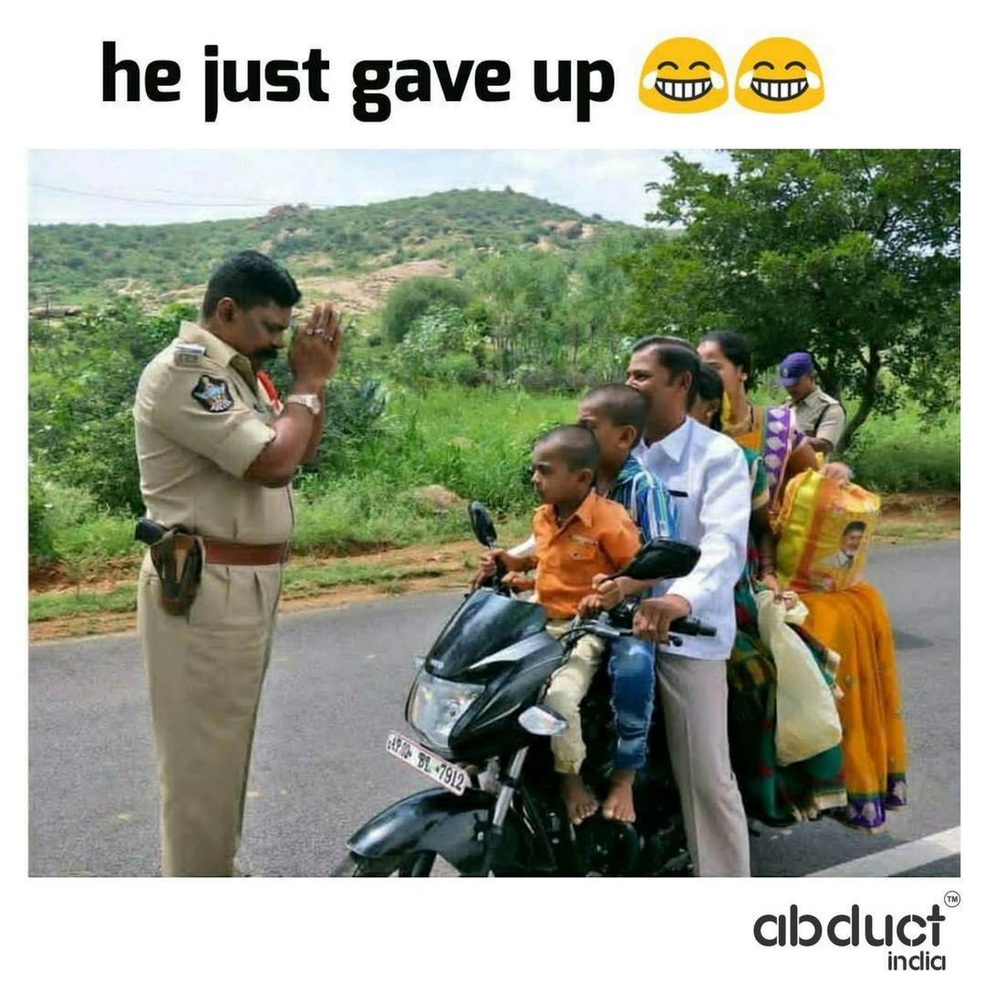He gave up againts the unity. #LOL #PowerofUnity #Abductindia<br>http://pic.twitter.com/Vfywzw3ckc