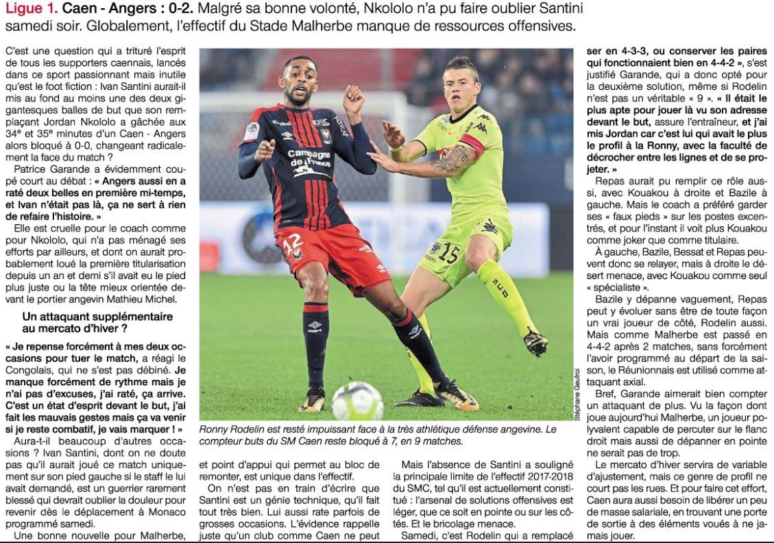 [9e journée de L1] SM Caen 0-2 SCO Angers DMPseiGW0AAi1BR