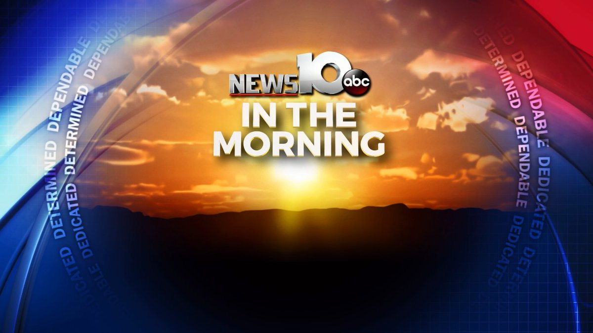 News10 ABC is LIVE on air at 4:30 am with everything you need to get your day started. Join us!  #WakeUpWith10 <br>http://pic.twitter.com/zetLz36V4Z