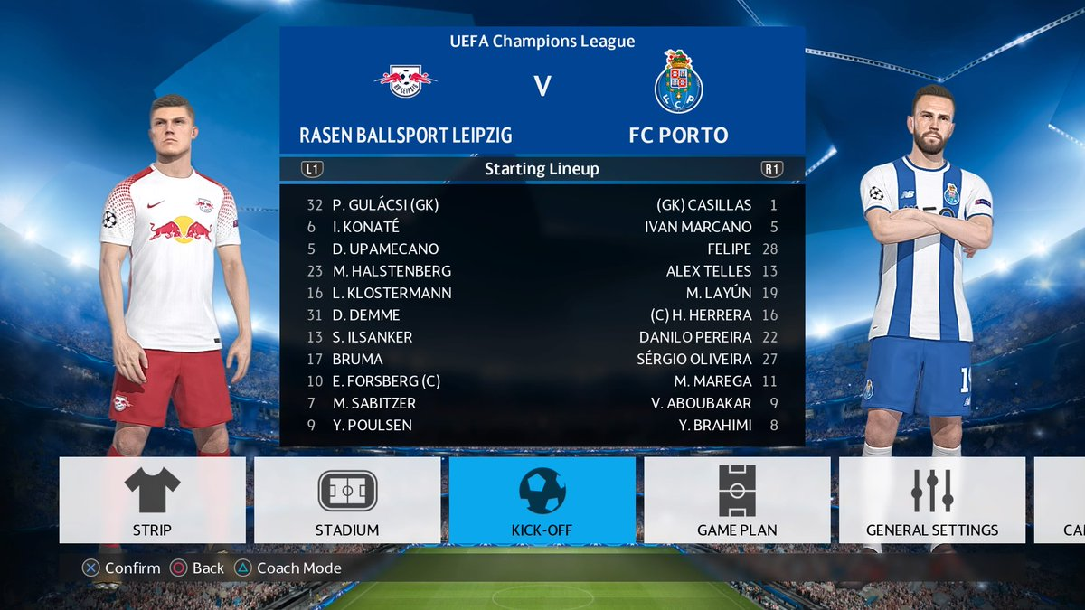 Pesfan On Twitter Rb Leipzig Take On Fc Porto Tomorrow Night In A Game Sure To Guarantee Goals