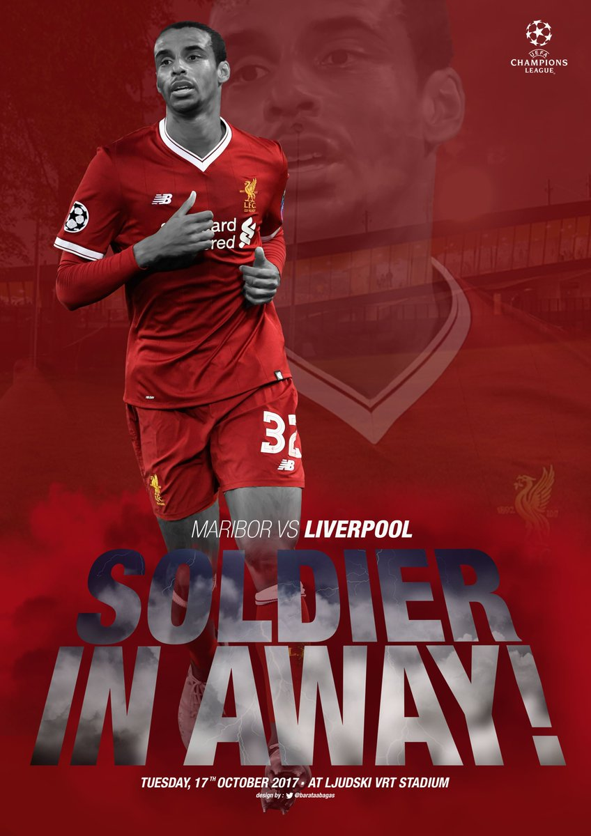 Another @ChampionsLeague game for our @LFC soldier in away against @nkmaribor! Featuring our deffender Joel Matip! #MyLFCMatchdayImage #YNWA #LoveLFC #LikeForLike #LFCFamily #BELIEVE<br>http://pic.twitter.com/Zl6vmIB20s