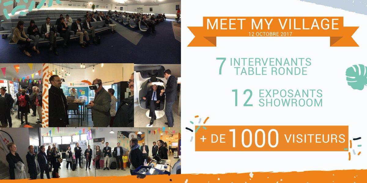 MERCI à nos partenaires & start-up pour leurs engagements à nos côtés pour cet événement réussi de #MeetMyVillage au @villageCAav ! pic.twitter.com/6JGTmqPRf4