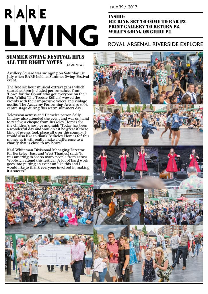 #new #Autumn #RARE #newsletter is out today. Make sure to check it out #royalarsenal #woolwich #greenwich<br>http://pic.twitter.com/2WddhyshgT