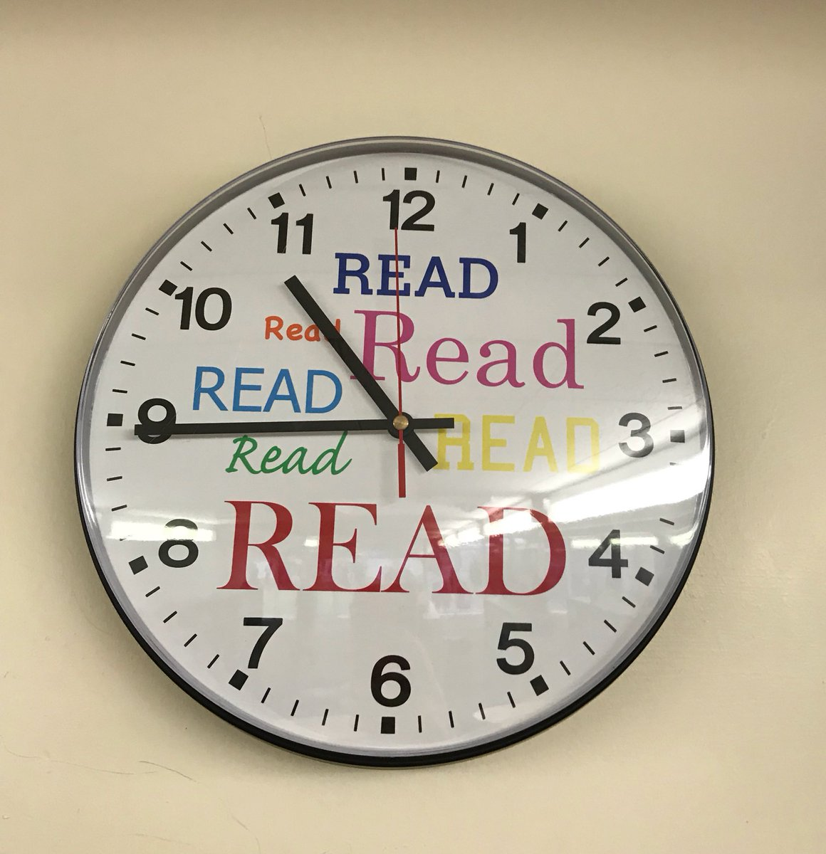 Steve Cole On Twitter Clock On The Wall Of School Library Im