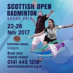 Badminton: Top international players set for Scottish Open GP...