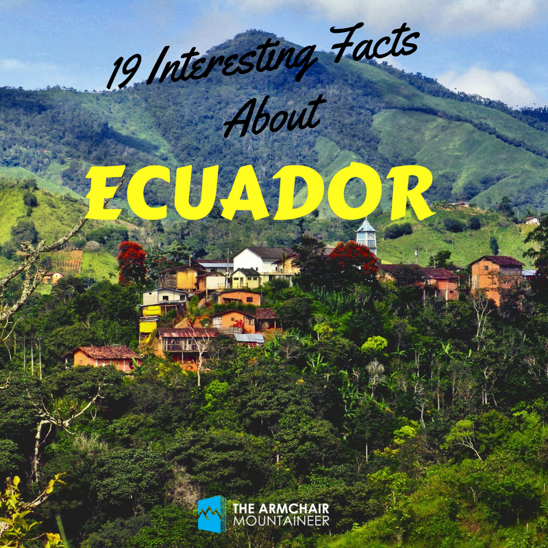 Mount Chimborazo is higher than Everest?!  http:// armchairmountaineer.com/interesting-fa cts-about-ecuador &nbsp; …  #ecuador #InterestingFacts #mountains #travel @Visit_Ecuador<br>http://pic.twitter.com/QgwobExtiL