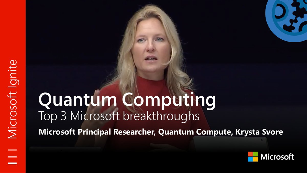 From #MSIgnite: #QuantumComputing, Top 3 Microsoft Breakthroughs. Watch the full session here:  http:// youtu.be/5p2_moQZJWo  &nbsp;  <br>http://pic.twitter.com/0iEV2eHiyG