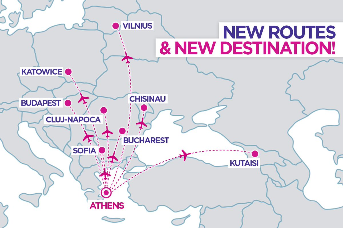 Wizz Air Opens 8 New Routes To Athens A New Destination As From 16 October Aviation24 Be