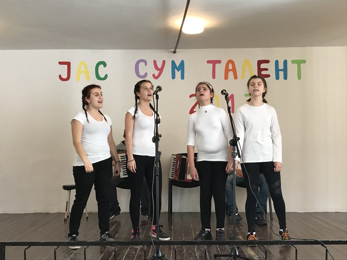 Meeting inspiring talents of DimitarVlahovSchool for visually impaired. Thanks Emilia connecting  with  #ability #inclusion <br>http://pic.twitter.com/IOkAjRUxK2