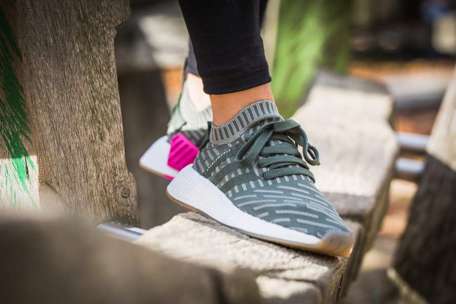 adidas NMD R2 Primeknit Green Pink Available here http   bit.ly 2ie9BWG  http   bit.ly 2ie9BWG  Sneakers  Footwear  NMD  FastSole   Kickpic.twitter.com  ... facdaed4e